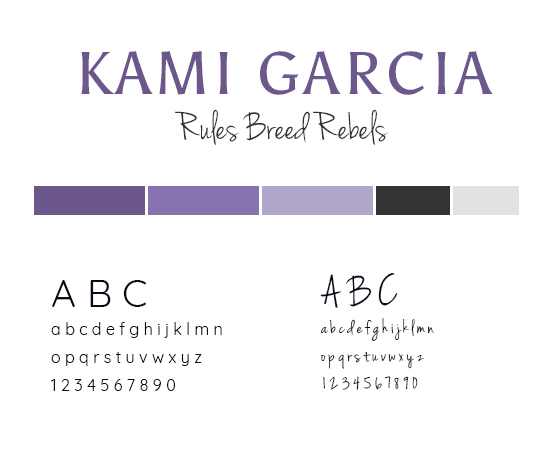 Kami Garcia style guide