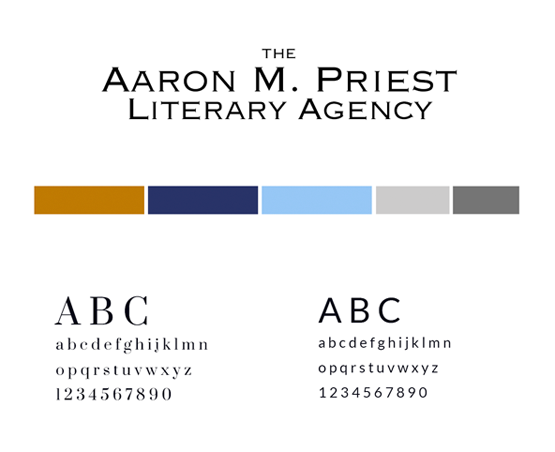 Aaron M. Priest Literary Agency style guide